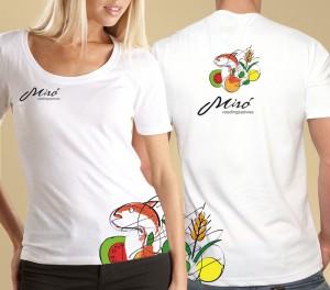 Miro voedingsadvies huisstijlontwerp - tshirt